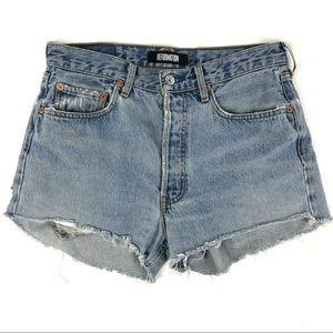 Reformation Levi's Jean Shorts Made in USA